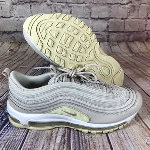 NIKE Air Max 97 Desert Sand Beige/White Womens